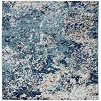 Amazon Price History for:Persian Rugs 6490 Blue 2 x 3 Abstract Modern Area Rug