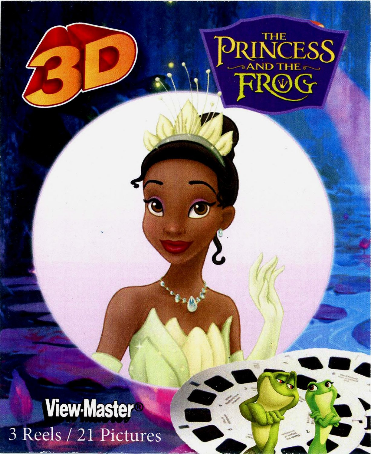 ViewMaster 3D Reels - Disney Princess and the Frog 3-pack Set by View Master