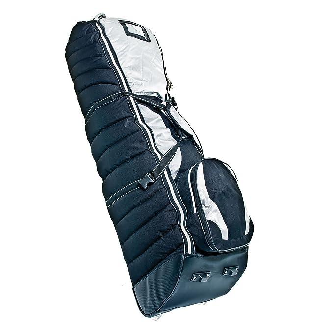 LONGRIDGE BATCRDB - Cubierta para bolsa de golf con ruedas para viaje: Amazon.es: Deportes y aire libre