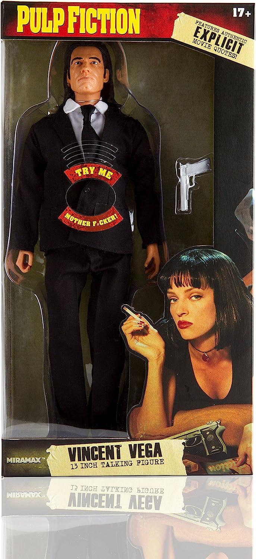 Pulp Fiction Talking Vincent Vega 13 In Talking Figura: Amazon.es ...