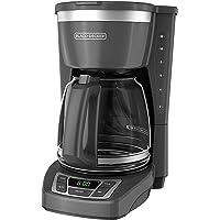 BLACK + DECKER CM1160G Cafetera de 12 Tazas Programable (Renewed)