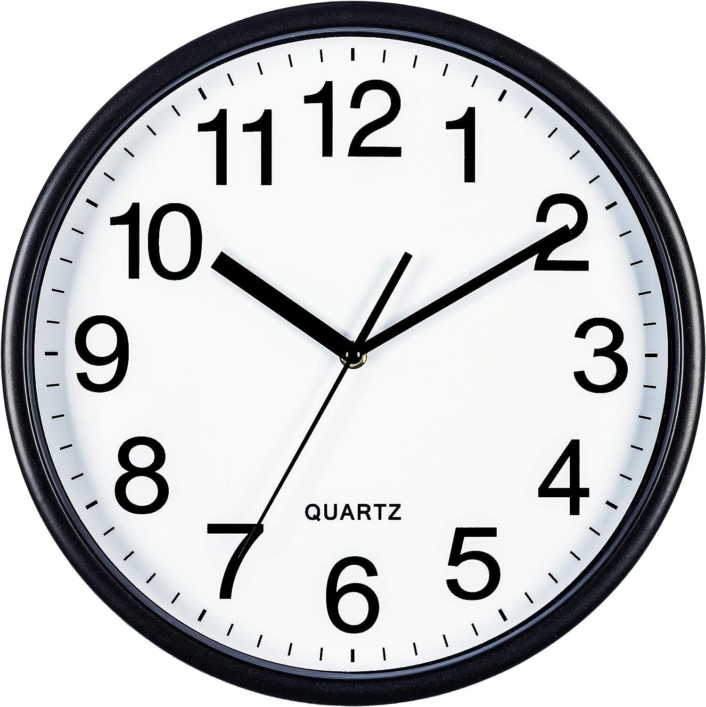 Wine Glass Clock 13 x 7 Home Decor Kitchen Decor Black