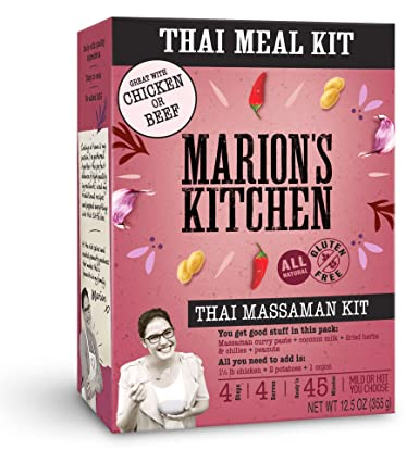 Marions Kitchen Gourmet Meal Kit Thai Massaman Curry 12 5 Ounce Pack Of 5 12 5 Ounce