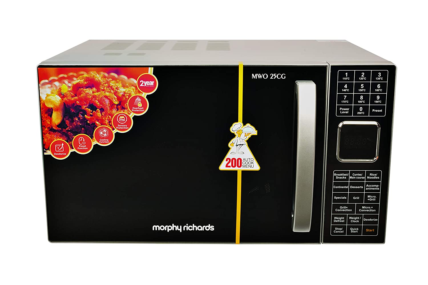 Morphy Richards Convection Microwave Oven (Silver)