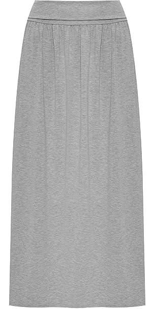 WearAll - Femmes Plus Plier Élastiquée Taille Plein Longueur Maxi Jupe  Dames Étendue Plaine - 44-50  Amazon.fr  Vêtements et accessoires d428e859a18e