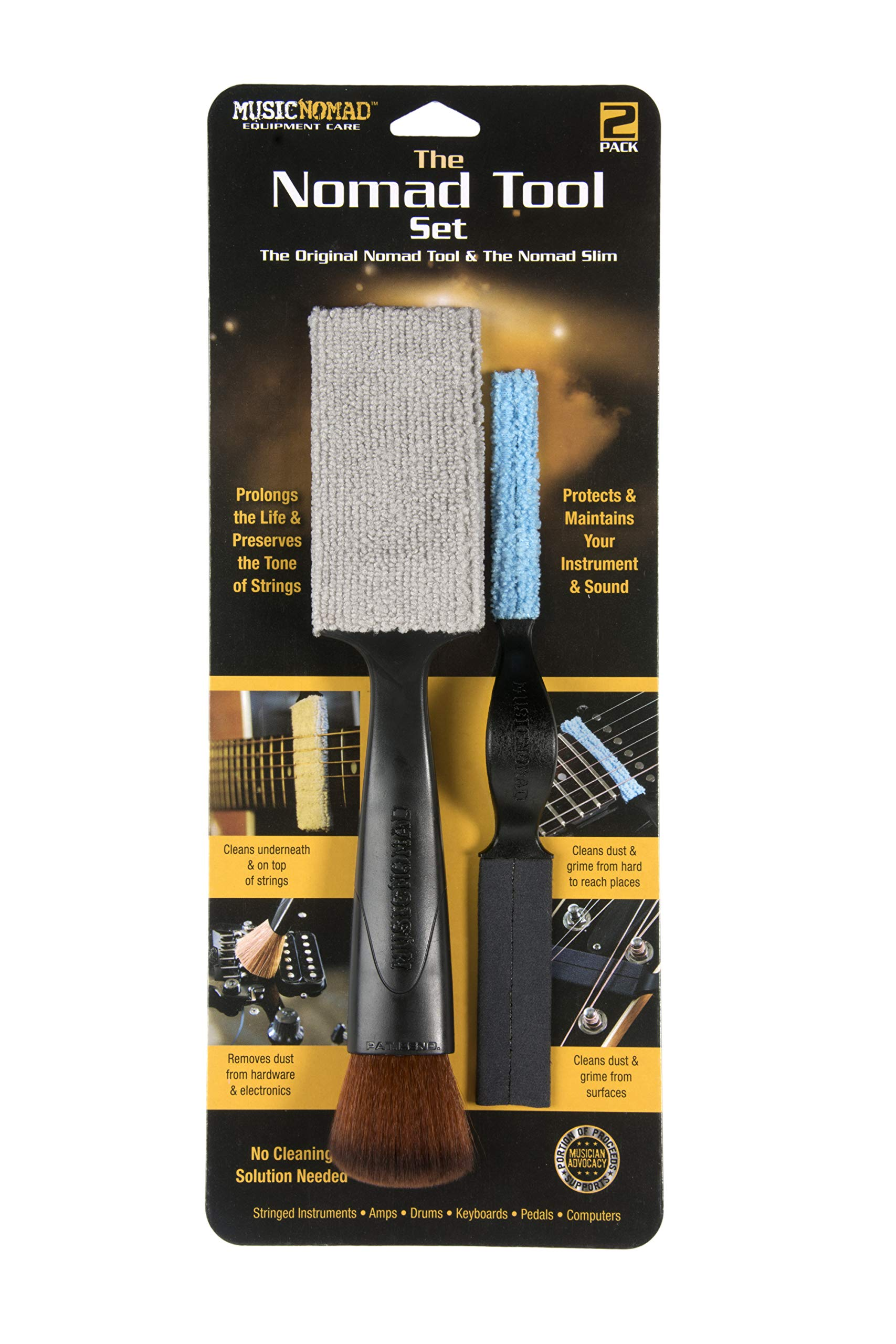 Music Nomad Equipment Care The Set - The Original Tool Slim Guitar Cleaning Product (MN204)