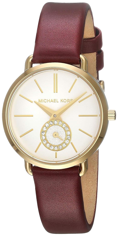 2c9238f0ec5d Amazon.com  Michael Kors Women s Portia - MK2751 Red One Size  Watches