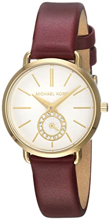 79a03d99ea62 Amazon.com  Michael Kors Women s Portia - MK2751 Red One Size  Watches