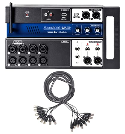 Amazon.com: Soundcraft Ui12 Digital Mixer w/Wifi+App Control ...