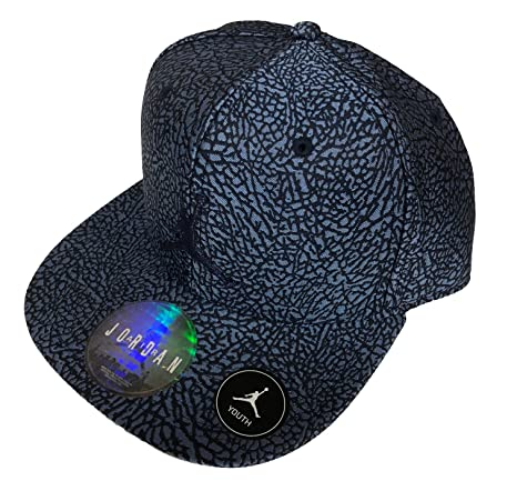 ... low price nike jordan baseball cap youth boys 8 20 elephant print  snapback 06549 3ee25 134019d8e466