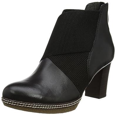 Gabor Shoes Damen Comfort Sport Stiefel, Schwarz (57 Schwarz (Micro)),