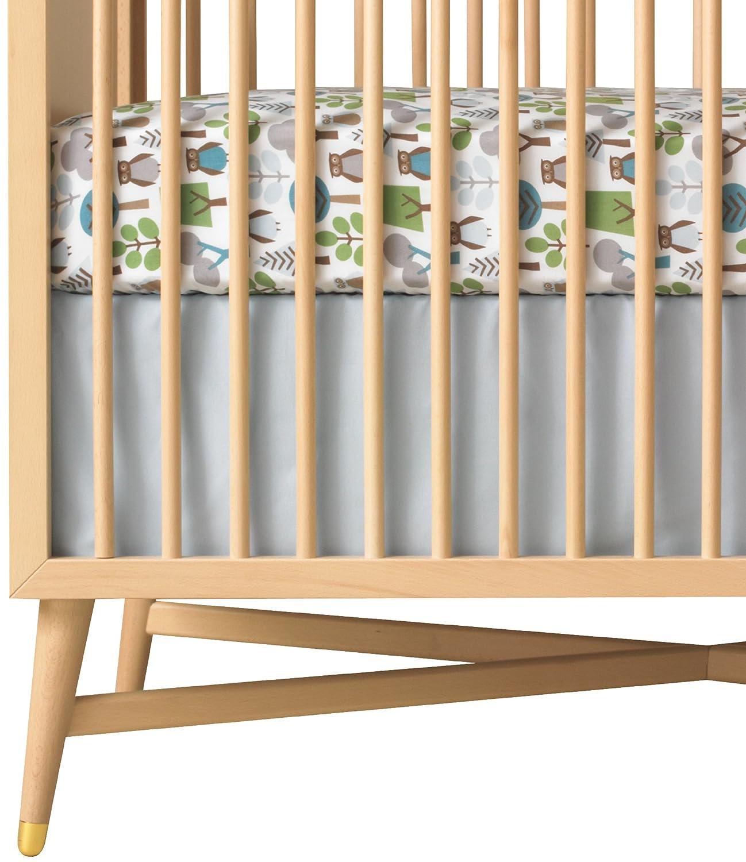 amazoncom  dwellstudio solid crib skirt blue (discontinued by  - amazoncom  dwellstudio solid crib skirt blue (discontinued bymanufacturer)  crib bed skirts  baby