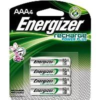 Energizer NH12BP4 Nickel-Metal Hydride (NiMH) 900mAh 1.2V batería recargable - Batería/Pila recargable (Níquel-metal hidruro (NiMH), 900 mAh, Cámara digital, 1.2 V, Color blanco)