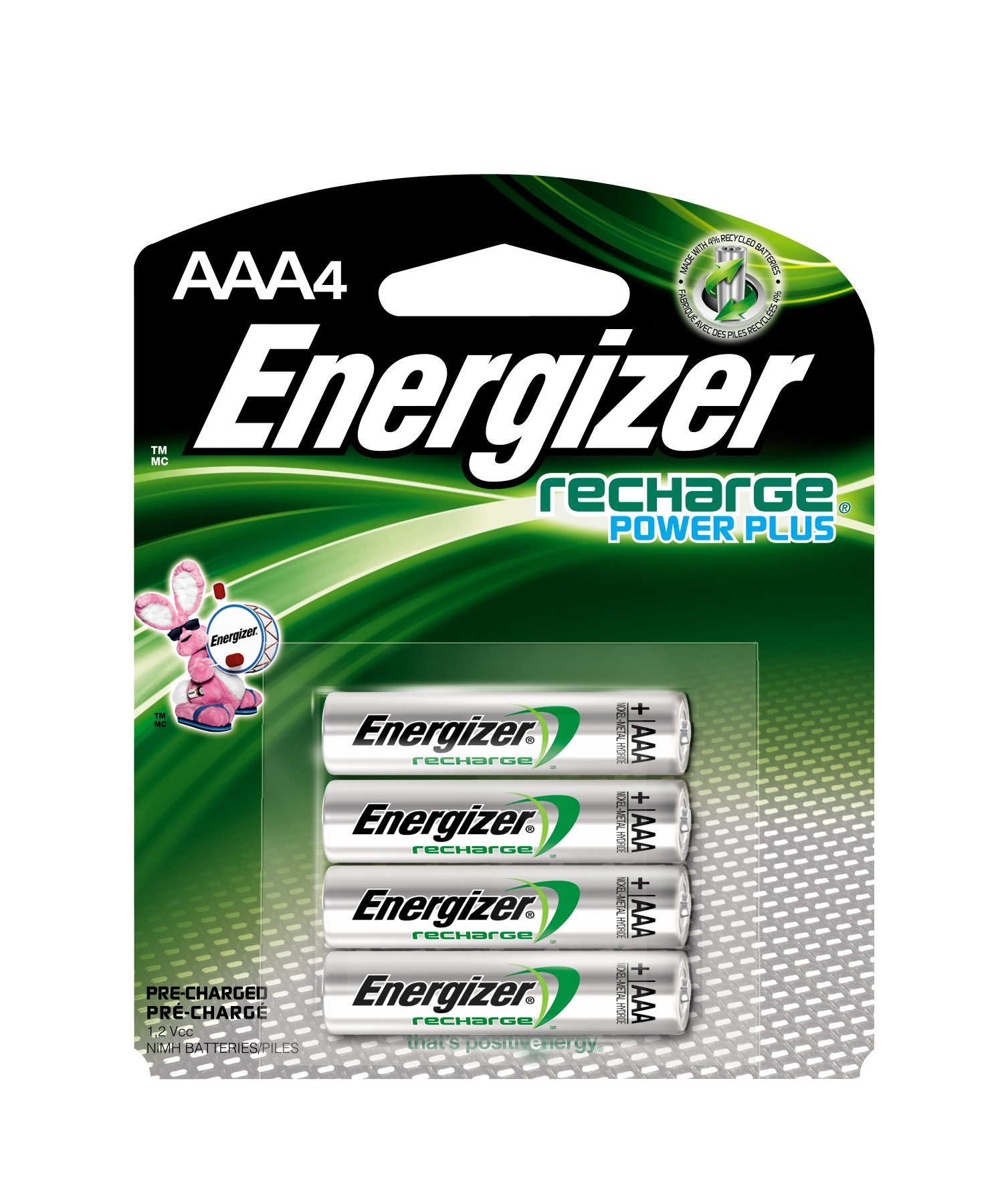 Amazon.com: Energizer NH22BP ACCU 9-Volt Rechargeable
