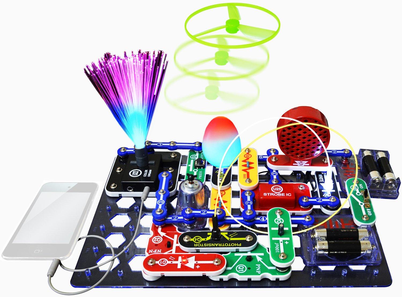 Snap Circuits Scl 175 Lights Electronics Elenco Scs185 Sound Pasa El Mouse Para Ver La Imagen Ampliada
