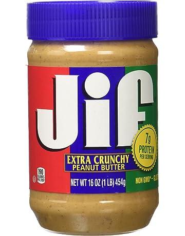 Jif 051500255377 - Mantequilla de cacahuete extra crujiente, 1 x 454g