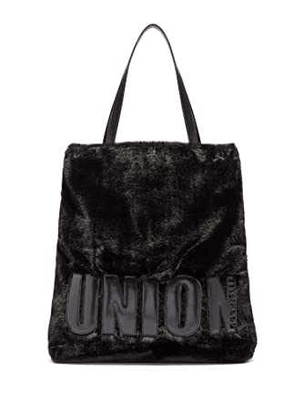 3eda67449ada Amazon.com  New York   Co. Women s Faux-Fur Tote Bag - Gabrielle Union  Collection 0 Black  Clothing