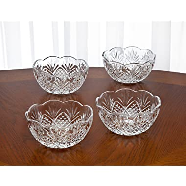 Godinger Dublin Set Of 4 Candy Bowls