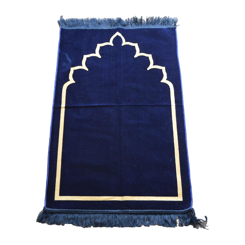 Tapis de pri/ère en Daim /épais de Style Oriental Traditionnel 110 x 70 cm