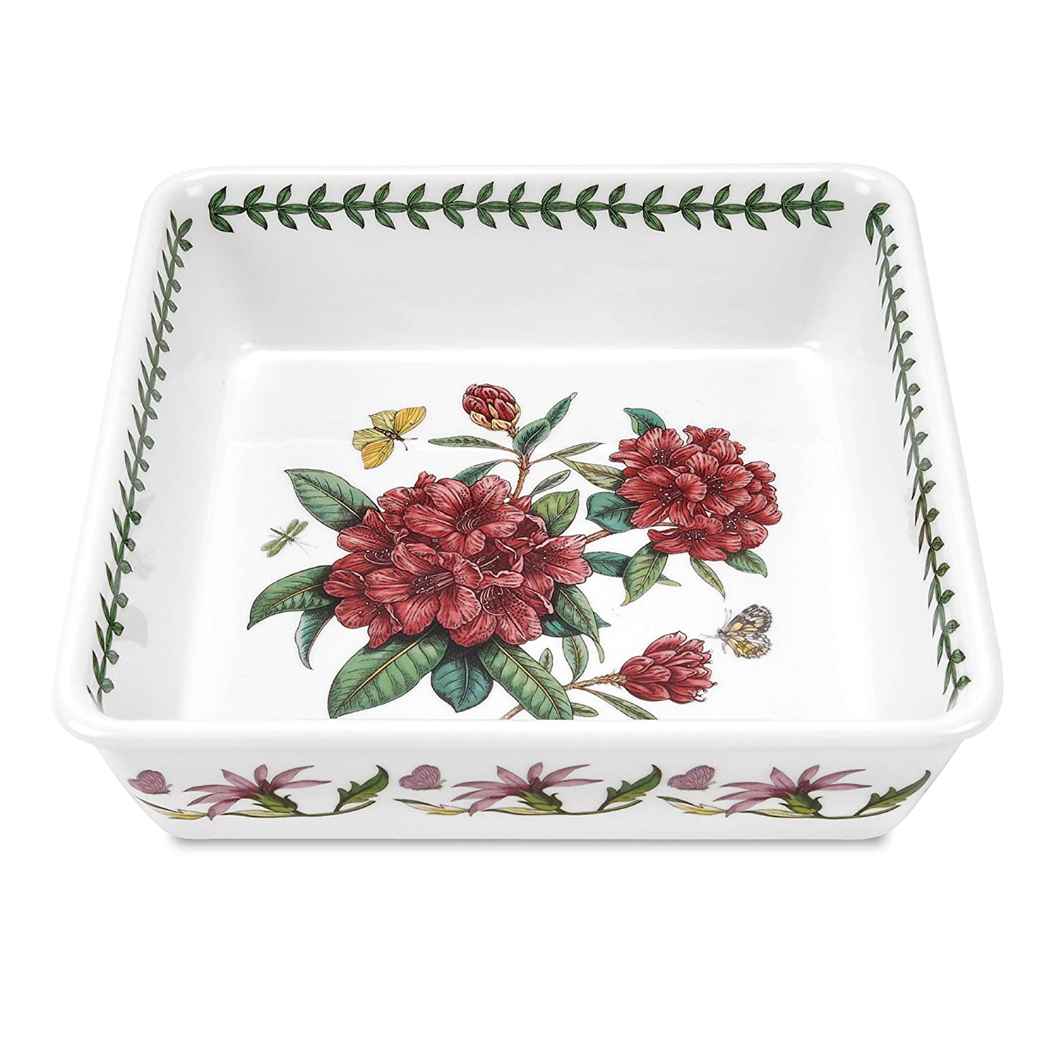 Amazon.com Portmeirion Botanic Garden Square Dish Portmeirion Square Baking Dish Kitchen u0026 Dining  sc 1 st  Amazon.com & Amazon.com: Portmeirion Botanic Garden Square Dish: Portmeirion ...