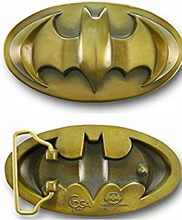 Batman 3d Bronze Finished Belt Buckle.