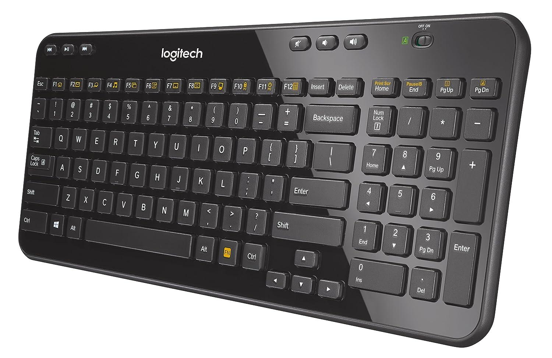 Logitech K360 Wireless Keyboard - Black 17553d9a541d9