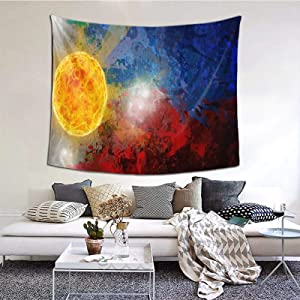 Decorative Vintage Filipino Flag Blanket 60 X 51 Inches Wall Blanket Tapestry Indoor Tapestries