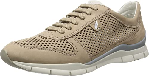 Geox D Sukie F, Sneakers Basses Femme: : Chaussures