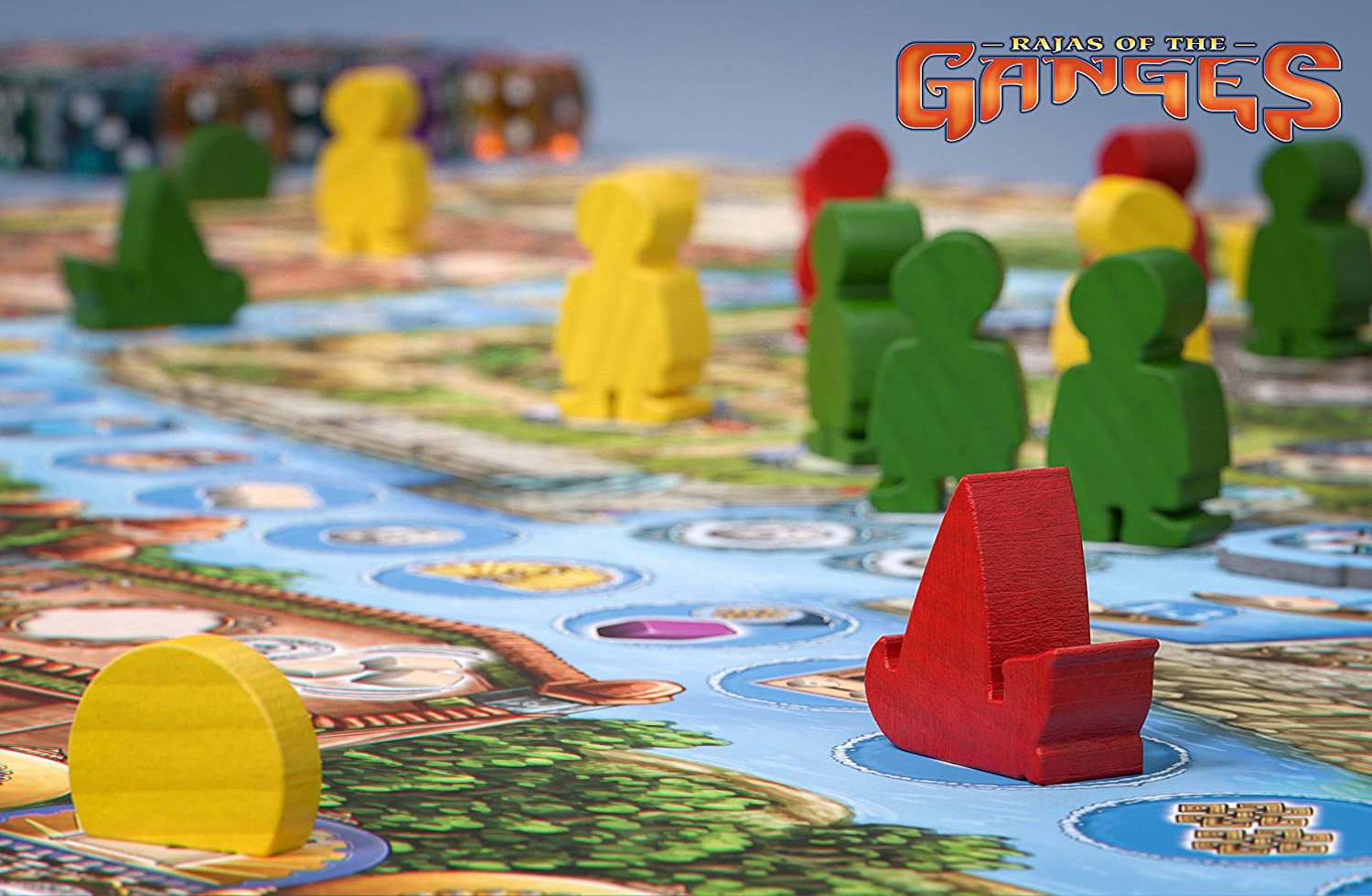 HUCH! -Rajas of The Ganges Modelo 879783: Brand, Inka, Brand, Markus: Amazon.es: Juguetes y juegos