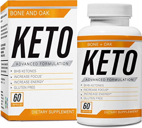 Bone and Oak Keto Diet Pills Apple Cider Vinegar Best Exogenous Supplement Utilize Fat for Energy Boost Metabolism Advanced Ketogenic Carb Absorption for Women Men Ultra Fast Ketosis