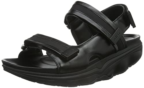 d8cfe3383ac MBT Men s Kisumu 6 Open Toe Sandals Black Size  11  Amazon.co.uk ...