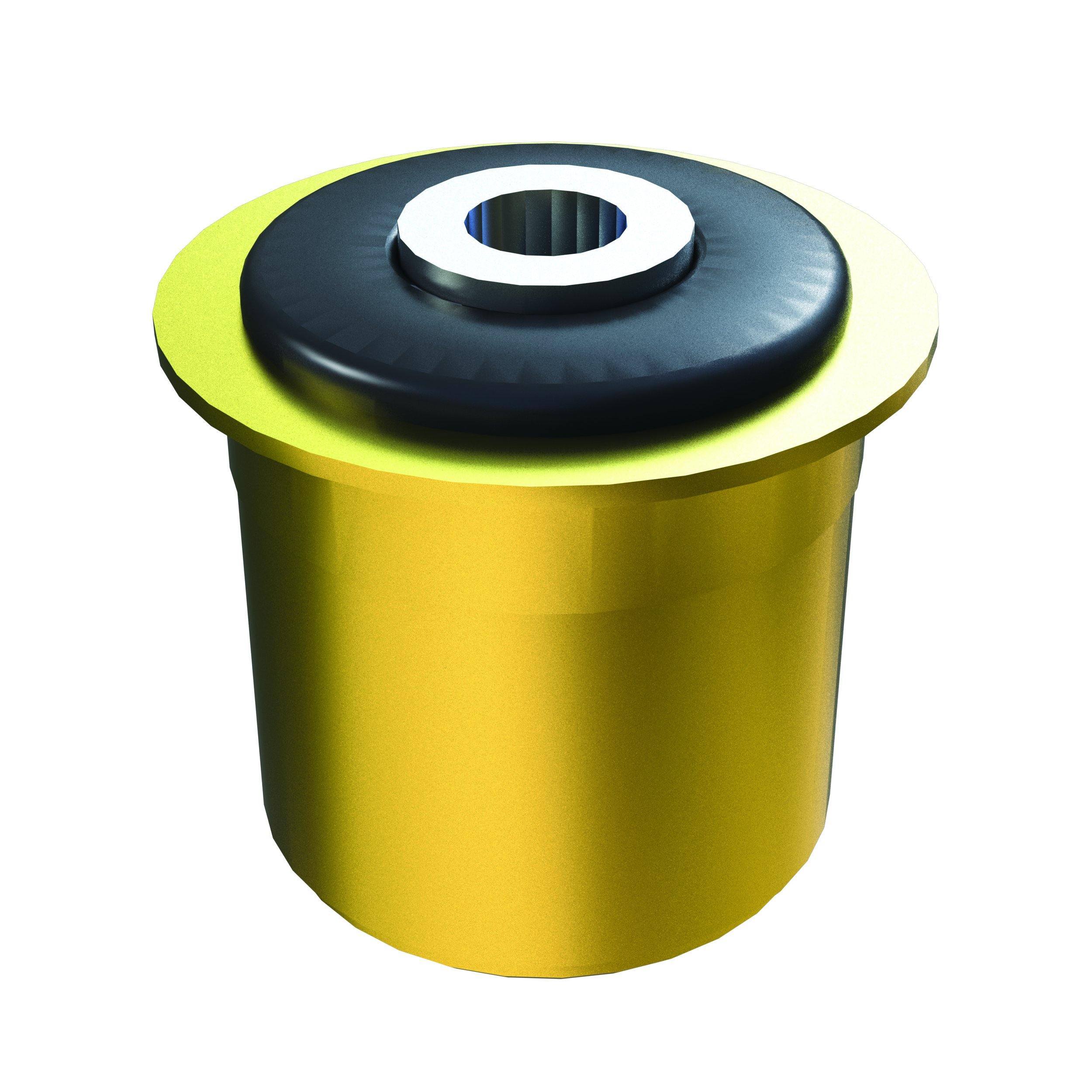TeraFlex 4915161 Large Clevite Rubber Bushing