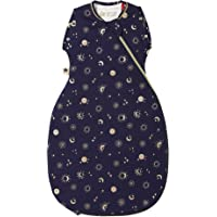 Tommee Tippee Baby Sleeping Bag, The Original Grobag Snuggle, Soft Bamboo-Rich Fabric, 0-4m, 2.5 Tog, Moon Child