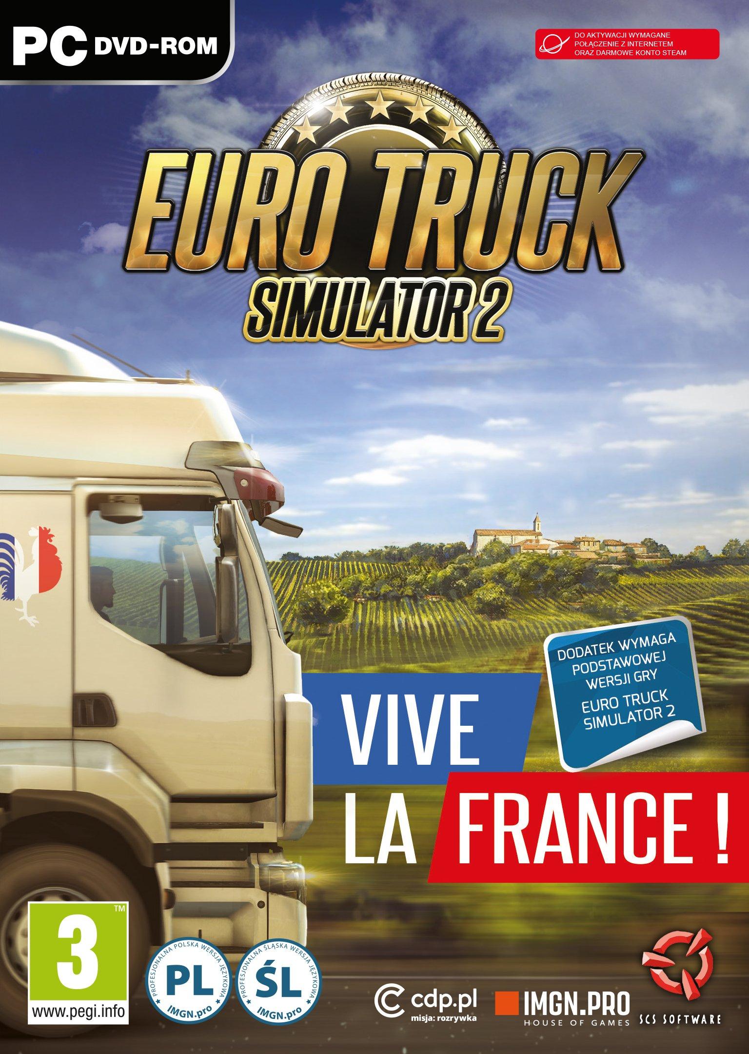 Euro Truck Simulator 2 Vive la France! PC: Amazon.es: Libros en idiomas extranjeros