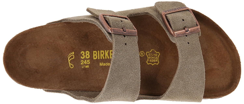 Birkenstock Arizona Soft Footbed Leather Sandal B00LY4CPB8 43 M EU / 10-10.5 D(M) US Taupe