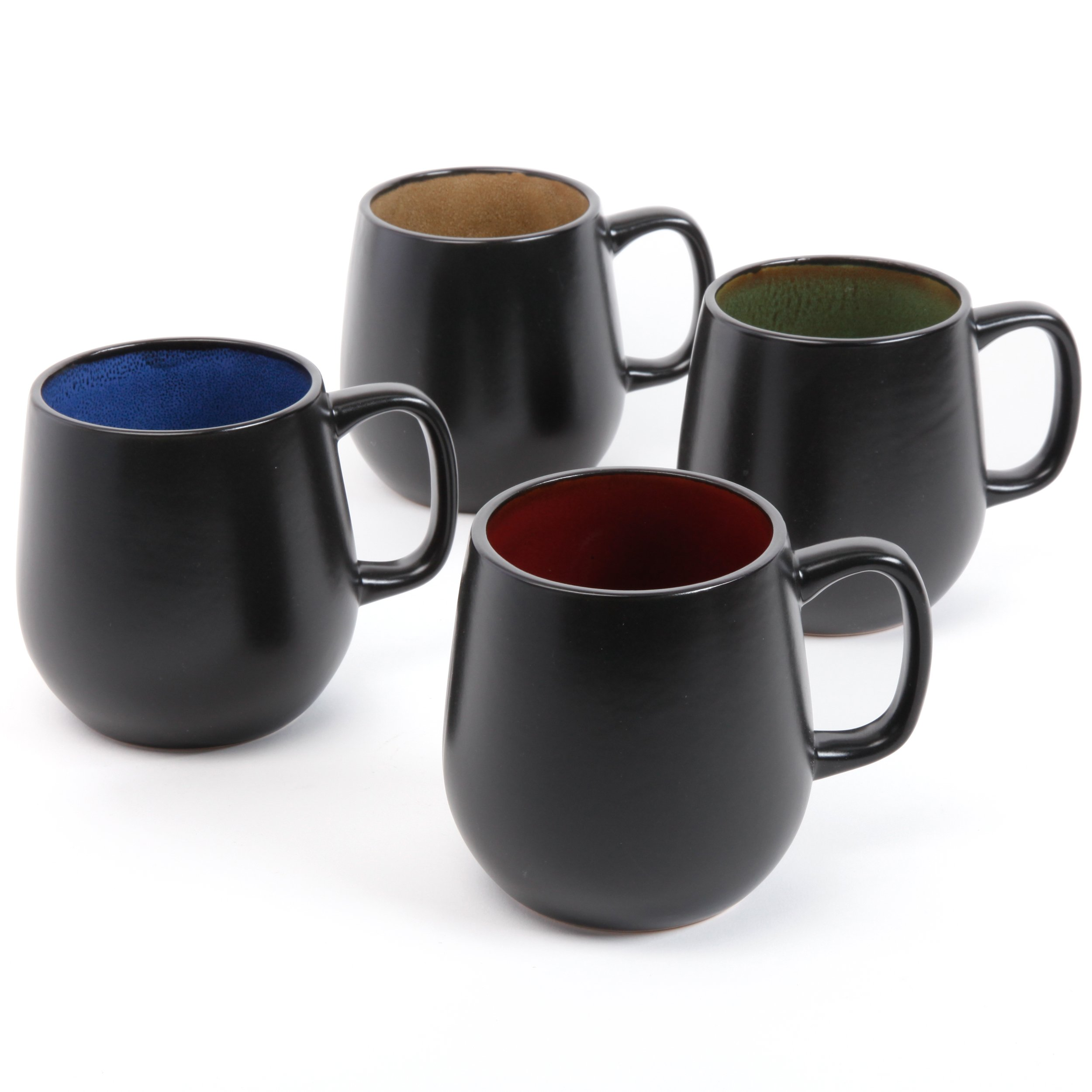 Gibson Elite 92955.04RM Soho Cafe 21 Ounce Mug, Multicolor