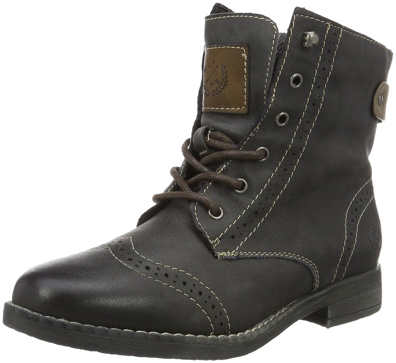 JANE KLAIN Damen Bootie Combat Stiefel, Grau (210 Graphite)