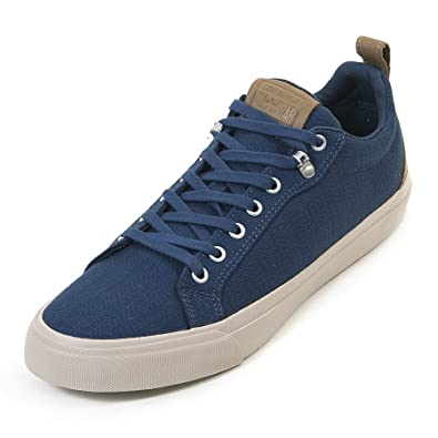 Converse Men's Fulton Heavy Canvas Ox Trainer Navy / Sand Dune / Papyrus