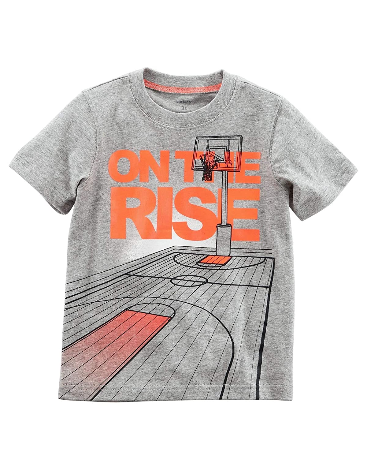 12 Months Gray Carters Baby Boys On The Rise Jersey Tee