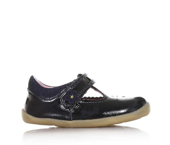BOBUX - Midnight blue shoe made of shiny leather, Step up model, Child, Baby  Girl: Amazon.co.uk: Shoes & Bags
