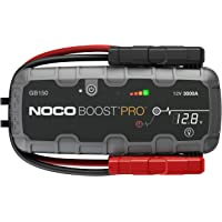 $299 » NOCO Boost Pro GB150 3000 Amp 12-Volt UltraSafe Lithium Jump Starter Box, Car…