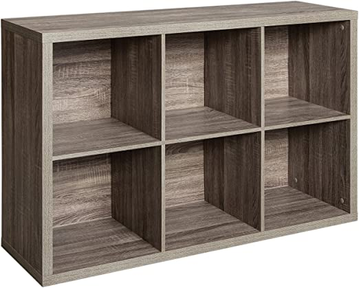 6 Cube Organizer Storage Cabinet Shelving Bookcase Home Organization