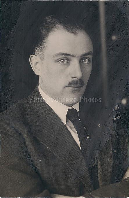 1920 Russ Simonton Vintage Hombre Traje de Hombre Corbata Bigote ...