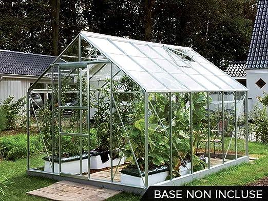 Lams – Invernadero (aluminio y cristal Merkur Lams – 9, 90 M²: Amazon.es: Hogar