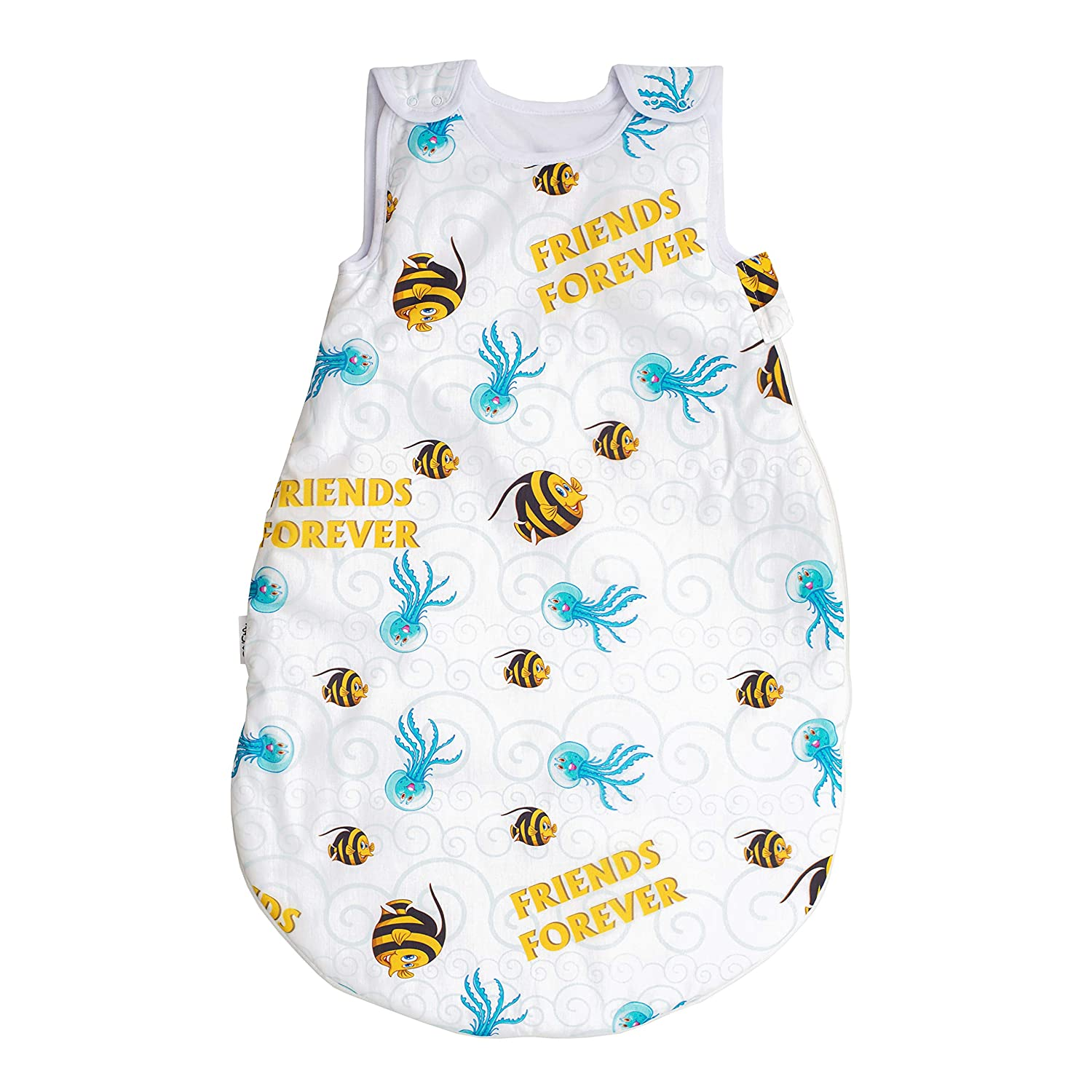 2.5 to 4 tog Pati/'Chou baby sleeping bag for autumn winter 6 12 24 36 months