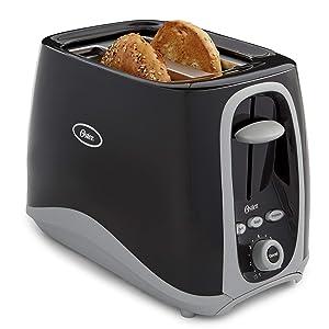 Oster 2-Slice Toaster, Black (006332-000-000) (Renewed)