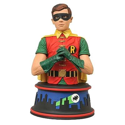 DIAMOND SELECT TOYS Batman Classic 1966 TV Series Robin Bust: Toys & Games
