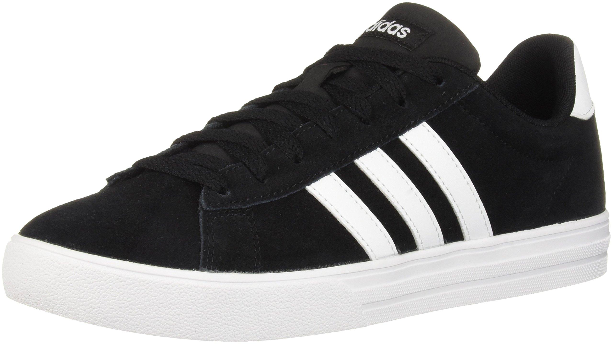 adidas Men's Daily 2.0 Sneaker, Black White, 11 M US