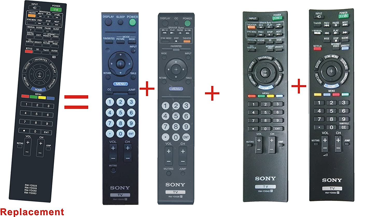 sony tv remote rm yd005. amazon.com: new replaced remote control rm-yd025 rm-yd024 rm-yd018 rm-yd021 rm-yd017 rm-yd014 rm-yd028 rm-yd027 rm-yd156 rm-yd026 fit for sony bravia lcd tv sony tv remote rm yd005 1