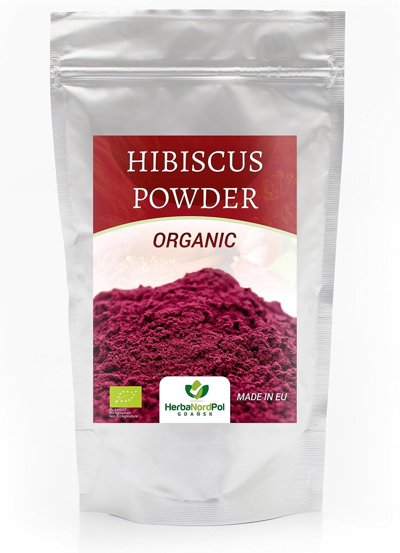 Organic Hibiscus POLVO Powder 250G, Matcha Style